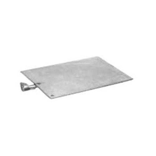 Hydel Galvanized Ground Plate W/ Connector