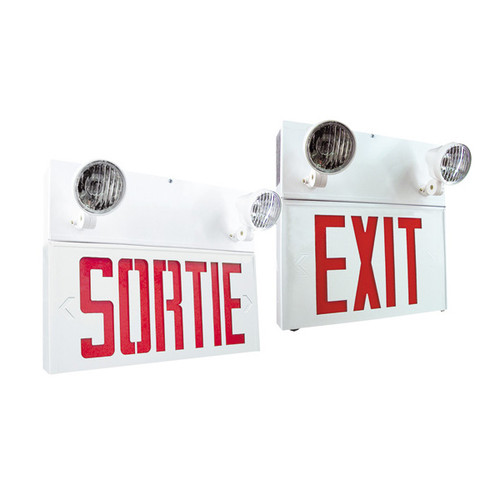 "AimLite Steel Combo ""Exit"" Sign and battery"
