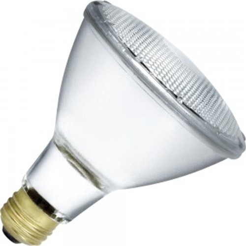 Standard 75W 130V Clear Long Neck Halogen Flood Lamp