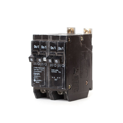Eaton Cutler-Hammer BQLT-15215 front angle view