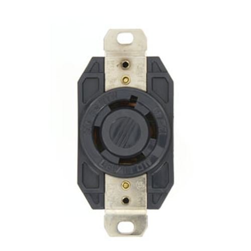 Leviton L17-30R 3P4W 3ph 30A 600V Twist Lock Receptacle
