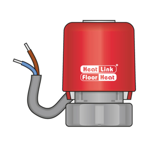 HeatLink Twistseal Manifold Actuator w/ LED