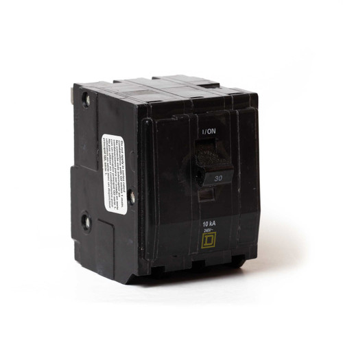 Square D QO330 front angle view