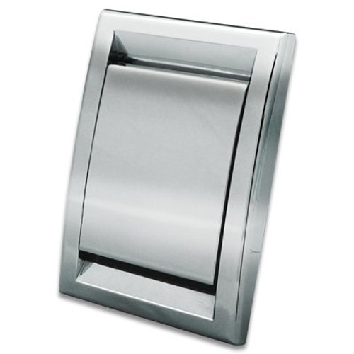 Mvac Metal Deco Vac Inlet - Chrome