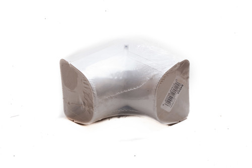 """Fortress LCO92W 3-1/2"""" 90° Outside Vertical Elbow for Ductless Mini Split Cover"""