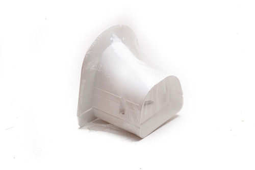 "Fortress LP92W 3-1/2"" Soffit Inlet for Ductless Mini Split"