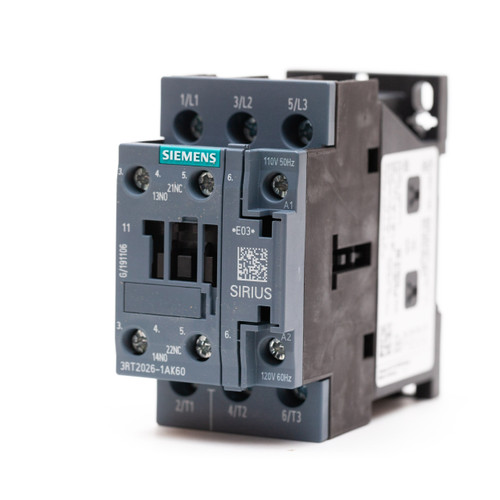 Siemens 3RT2026-1AK60 front angle view