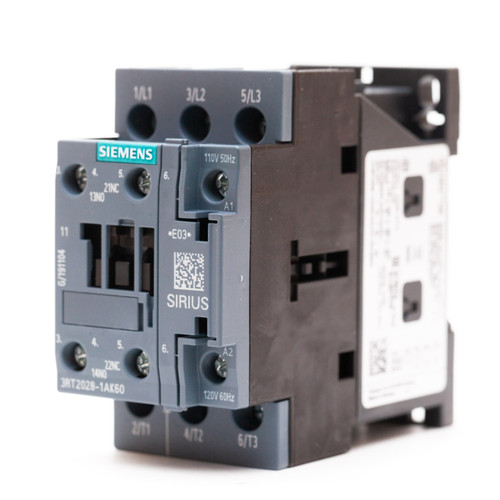 Siemens 3RT2028-1AK60 front angle view