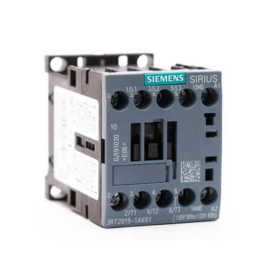 Siemens 3RT20151AK61 front angle view