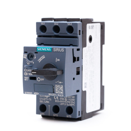 Siemens 3RV2011-1KA10 front angle