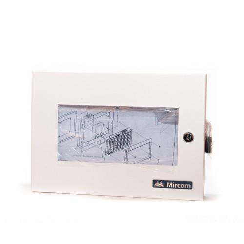 Mircom BB-1001D Backbox for Remote Annunciator - White