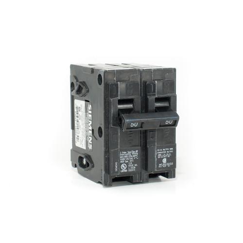 Siemens Q250 50A Two Pole Push-On Breaker