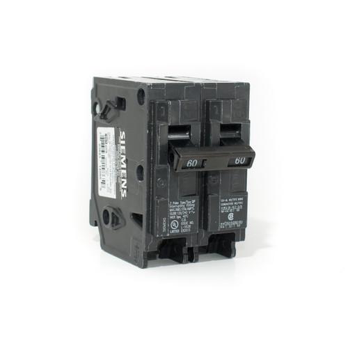 Siemens Q260 60A Two Pole Push-On Breaker