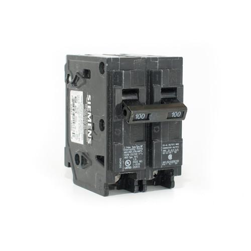 Siemens Q2100 100A Two Pole Push-On Breaker