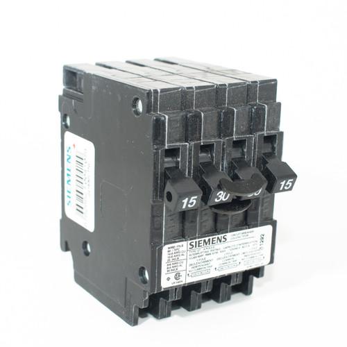 Siemens Q21530CTNC 15/2P30/15 Quad Push-On Breaker