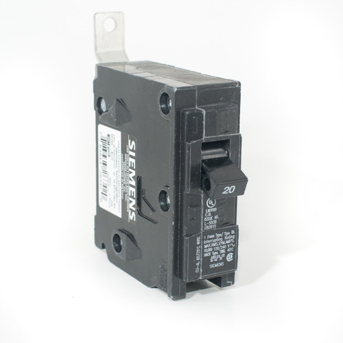 Siemens B120 20A Single Pole 'BL' Bolt-On Breaker