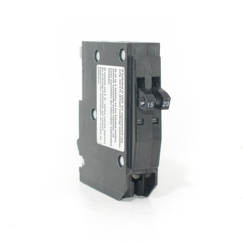 Square D QO1520 front angle view