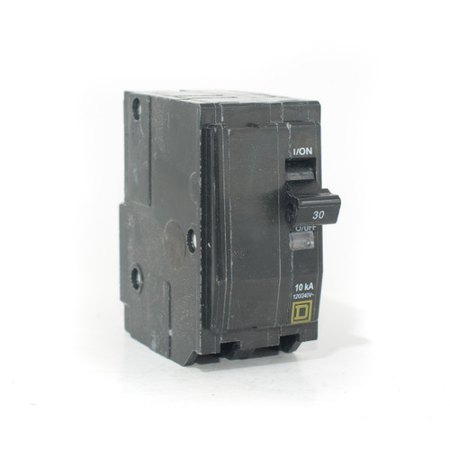 Square D QO230 front angle view