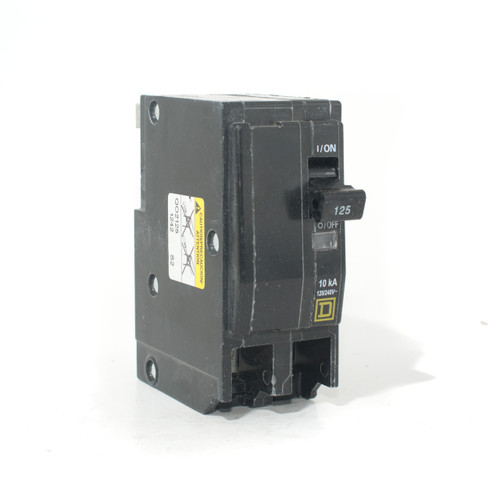 Square D QO2125 front angle view