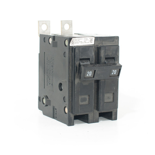 Eaton Cutler-Hammer BAB2020 front angle view