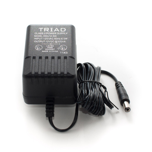 Triad 9VDC 300mA Power Supply - TremTech Online Store