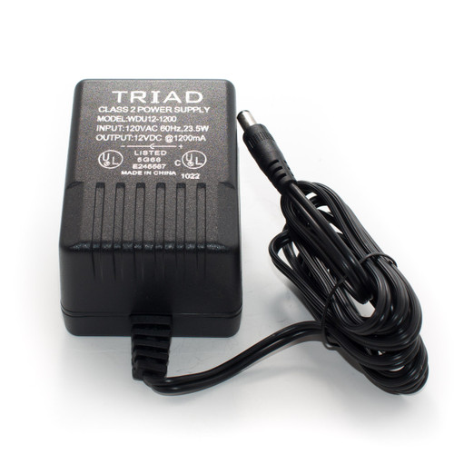 Triad 12VDC 1200mA Power Supply