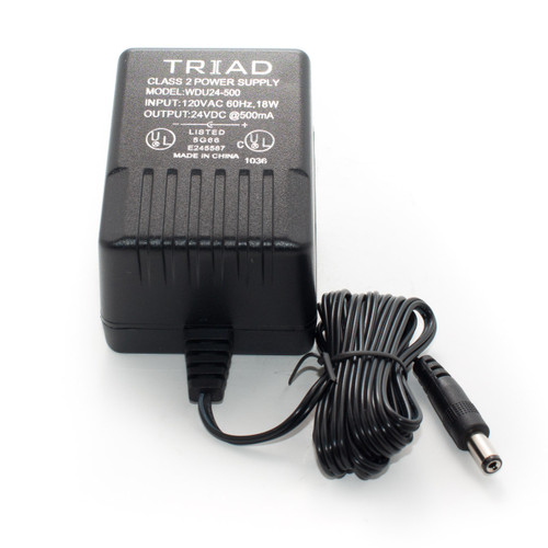 Triad  24VDC 500mA Power Supply