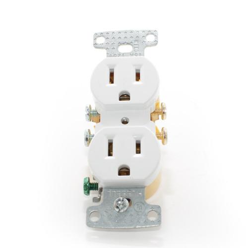 Duplex Receptacle 15A 125V, White
