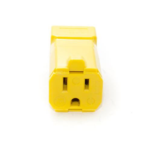 5-15R 2P3W 15A 125V Straight Blade Connector