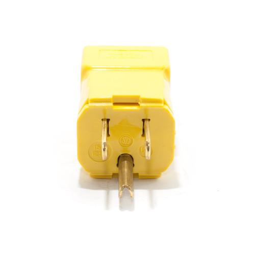 5-15P 2P3W 15A 125V Straight Blade Plug