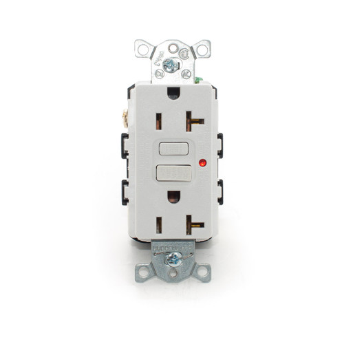 20A GFCI Receptacle, White