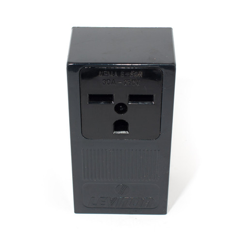 6-30R 2P3W 30A 250V Surface Mount Receptacle