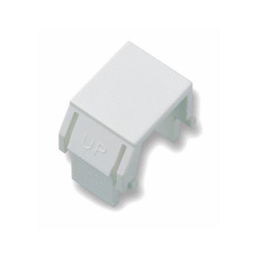 On-Q Blank Keystone Insert 10-Pack White