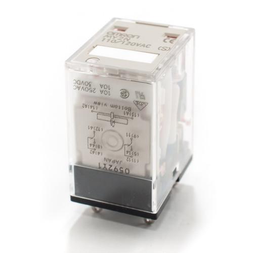 Omron MY2N 110/120VAC Relay w/LED Indicator
