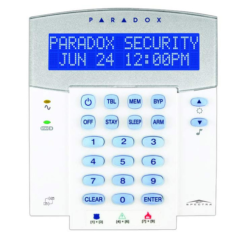 Paradox K32LX with door open