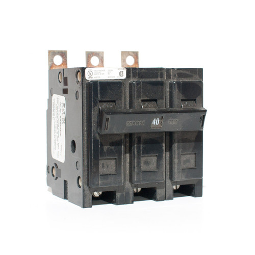 Eaton Cutler-Hammer BAB3040H Three Pole 40A Bolt-On Breaker