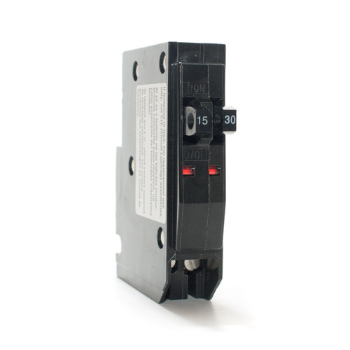 Square D QO1530 Tandem 15/30A Push-On Breaker
