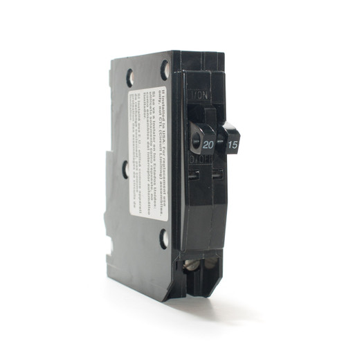 Square D QO2015 Tandem 20/15A Push-On Breaker