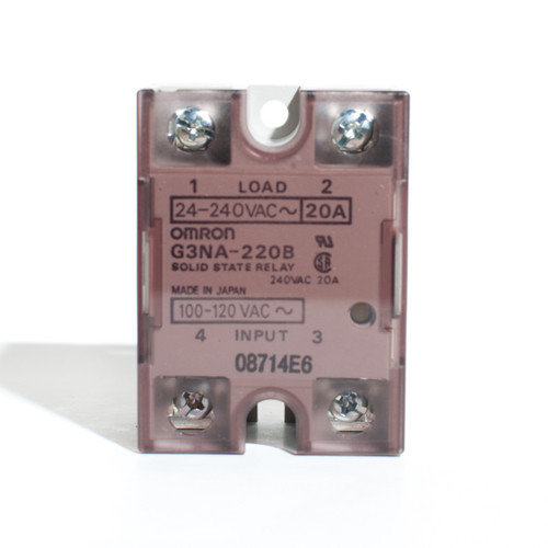 Omron G3NA-220B 100-120VAC Solid State Relay