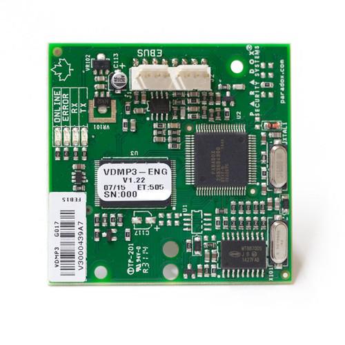 Paradox VDMP3 PCB front view