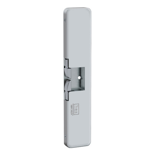 9400-630 door strike with satin stainless steel finish