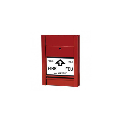 Mircom MS-401ID Single Action Addressable Manual Pull Station