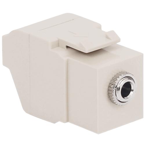 3.5mm Modular Stereo Jack, White