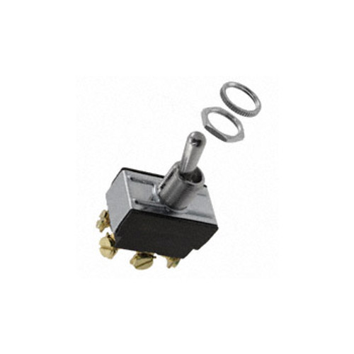 Carling Switch DPDT Toggle Switch, 15A, 250VAC, On-None-Off