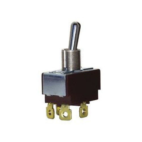 Eaton Toggle Switch, DPST, 15A, 250VAC, On-None-Off