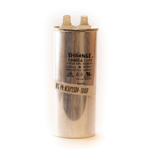 Shonge Run Capacitor 100µF 250VAC