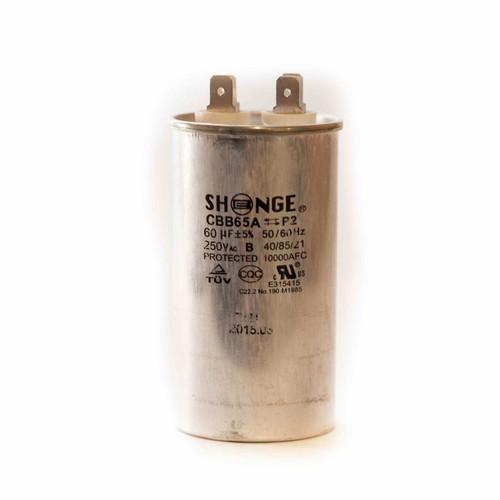 Shonge Run Capacitor 60µF 250VAC