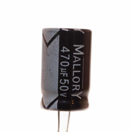 Mallory Capacitor 470µF 50VDC