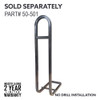 Safety Grab Bar - Fits Challenger HD/SE Rear Seats