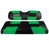 RIPTIDE Black/Green Front Seat Cover